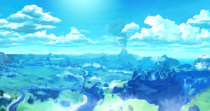 NintendoSwitch_TLOZBreathoftheWild_artwork_bkgd_01
